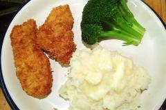 chicken & mash